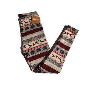🍓2 for $30🍓 Just Cozy Christmas Reindeer legging